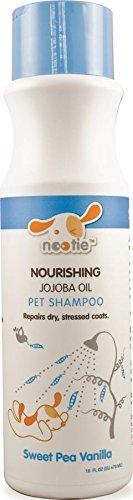 (Nootie-jojoba oil Pet Shampoo, 1 Unit 16oz,Sweet Pea & Vanilla)