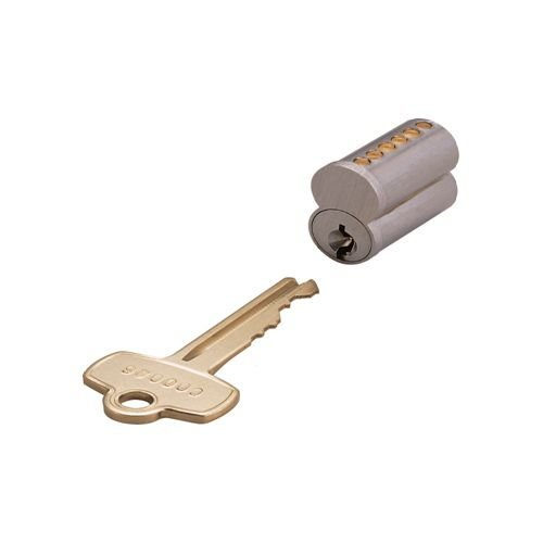 EZ-Set 300600C 6-Pin SFIC Interchangeable Core (Core Only), Stainless Steel