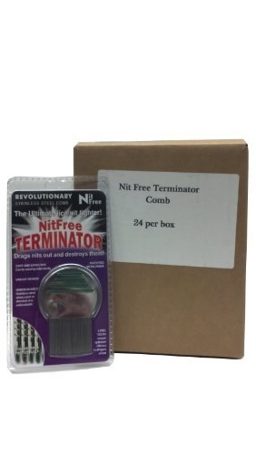 Nit Free Terminator Lice Comb (24-Pack)