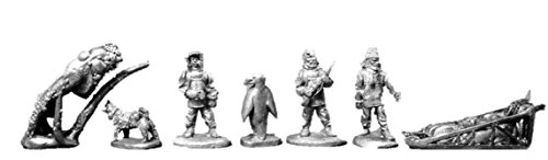 Call of Cthulhu Miniatures: Servents and Staff (3) by RAFM Miniatures