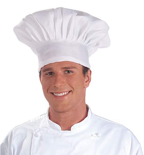 - Forum Novelties Men's Novelty Chef Hat, White, Standard