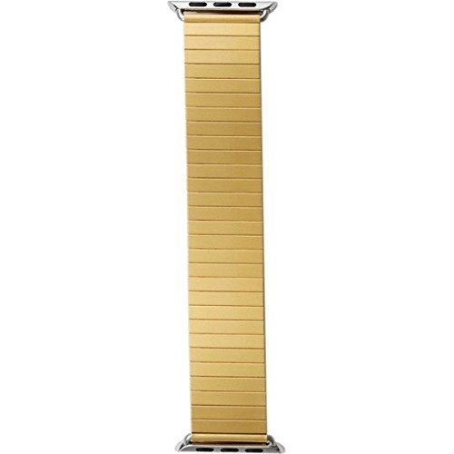 RILEE AND LO Rilee & Lo Yellow Gold Watchband for the 38mm Apple Watch
