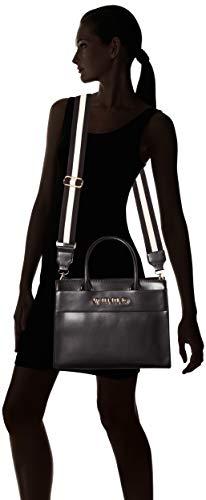 cabas Noir By noir Nero Valentino 001 sac explosion en Mario Valentino logo wIFqz6w