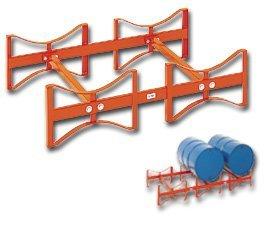 - Meco Stacking Drum Racks - 3-Drum Capacity