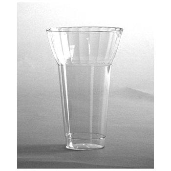 Classic Parfait Clear Rigid Plastic Parfait Cup, 16 Ounce (240-Count) (Fluted Oz Clear 16)