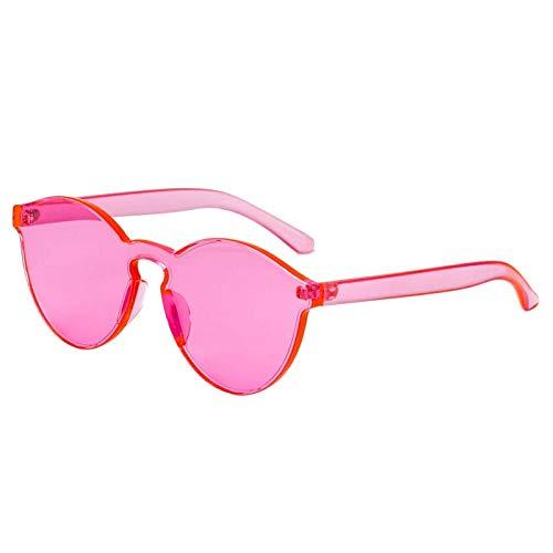 de señoras de Aprigy vidrios Color rosa del Hombre para Gafas Gafas del Sol los Gafas Rosa Gafas vidrios Caramelo Sol Sun Las de Mujeres de de Las ópticos qWq5v7H
