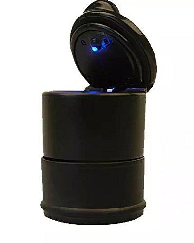 Goliton? LED Portable Car Truck Auto Office Cigarette Ashtray Holder Cup - ()