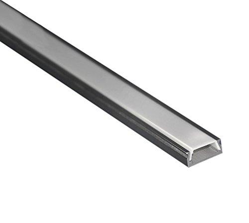 20 opinioni per Profilo LED 6 Metri (3 barre da 2 Metri) ultra piatto in alluminio anodizzato L.