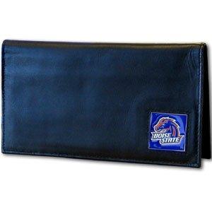 Siskiyou NCAA Boise State Broncos Leather Checkbook Cover Boise State Broncos Leather