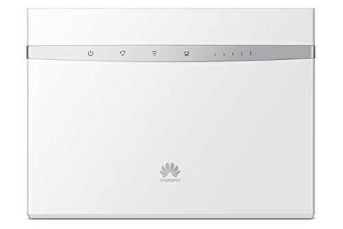Huawei B525s-23a Unlocked 4G/LTE CPE 300 Mbps Mobile Wi-Fi Router (3G/4G LTE in Europe, Asia, Middle East, Africa) (White)