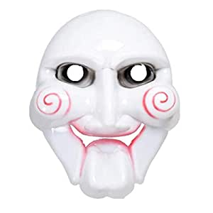 Halloween Party Horror Masqueradey Cosplay Costume for Chainsaw Killer PVC Club Party Mask for Adults