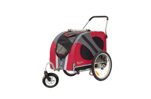 DoggyRide Novel Dog Stroller, Urban Red