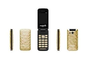 Móvil para Mayores Teléfono Teclado Grande y fácil de Usar con gsm ...