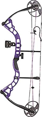 Diamond Archery Prism Right Hand 5-55# Compound Bow, Purple
