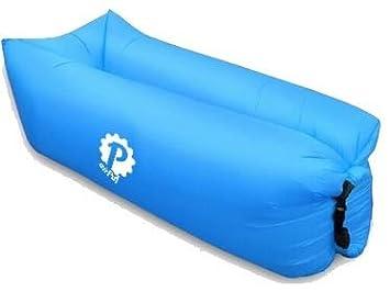 Pevita airPuf - Sofá Hinchable, Tumbona Hinchable. Imágenes Laybag para la Playa, Piscina, Jardín y Camping. Colchón Hinchable Lazybag