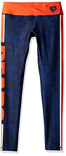 Foco Chicago Bears Team Stripe Legging - Womens -