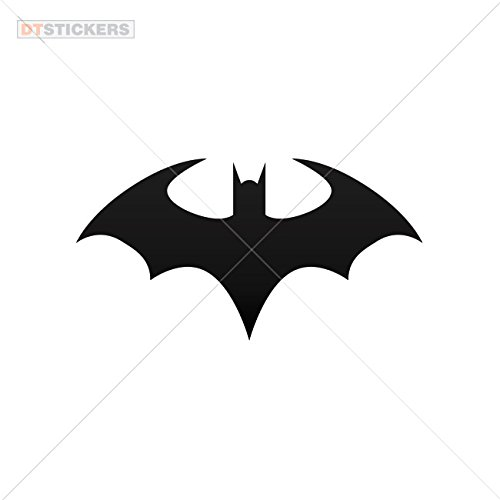Hobby Vinyl Decal Halloween Batman hobby decor (5 X 2,62 In. ) Vinyl color Black