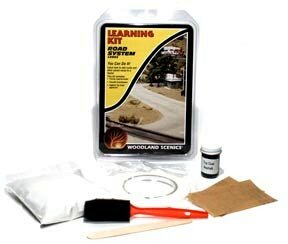 Building Kit Woodland Scenics Model - Woodland Scenics Road System Learning Kit