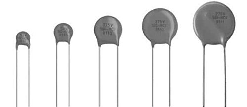 50 pieces Varistors 275volts 9mm Radial 5mm L.S.
