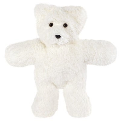 Vermont Teddy Bear - Travel Buddy Bear, 14 inches, White