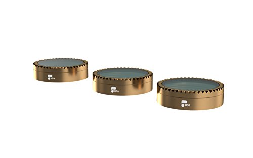 PolarPro Shutter Collection Filter 3-Pack (ND4, ND8, ND16) Cinema Series for DJI Mavic Air