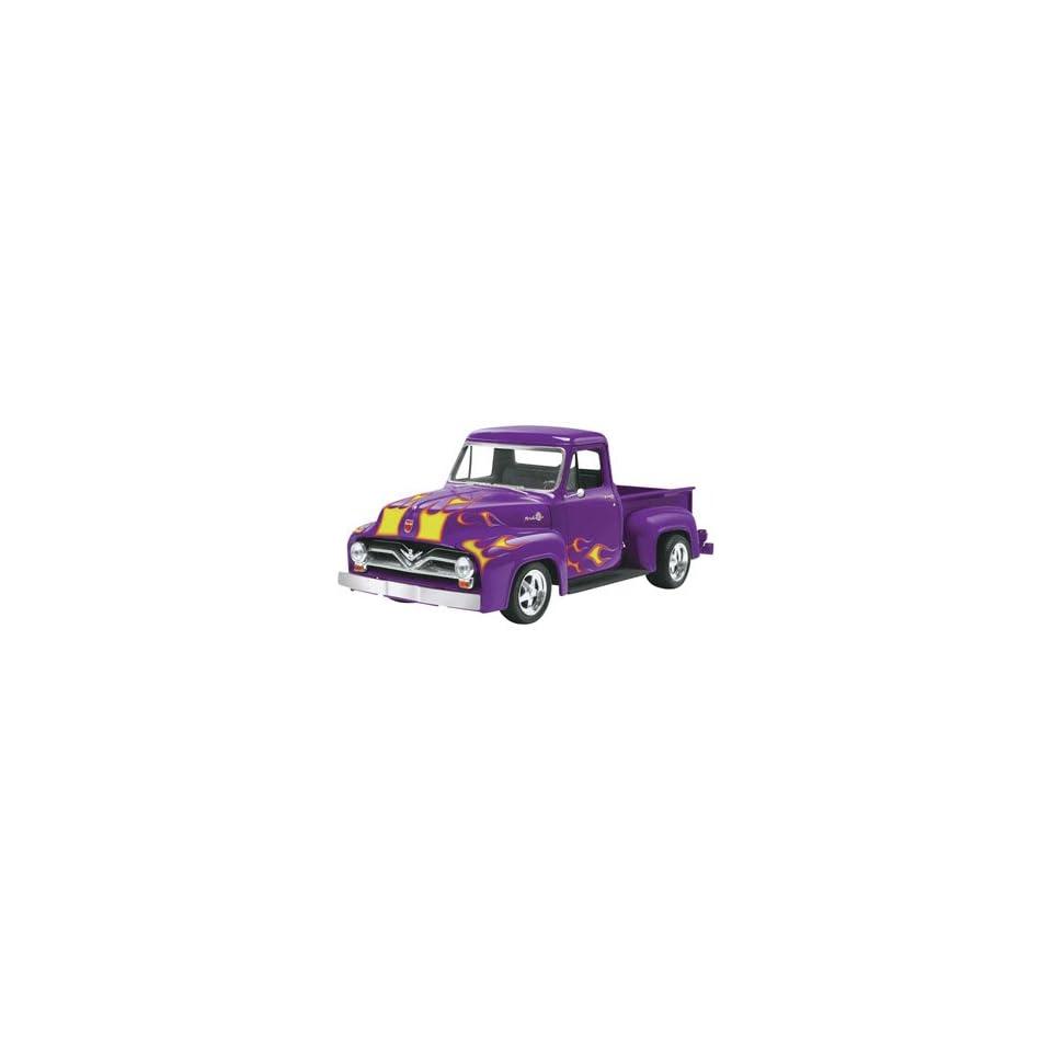 Monogram 1/24 1955 Ford F 100 Pickup Street Rod Car Model Kit