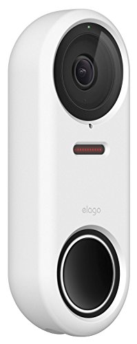 elago Nest Hello Case [White] - [Full Cover Protection][Night Vision Compatible] [Durable Material] [UV Light Resistant] [Easy Installation][Patent Pending]