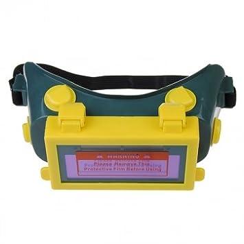 Alta calidad Solar Auto oscurecimiento soldadura casco LCD soldar Máscara soldar Gafas: Amazon.es: Electrónica