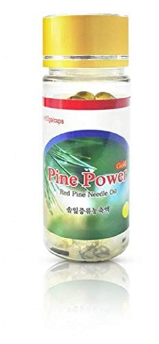PINE POWER Korean Red Pine Needle Oil 30 Gel Capsules