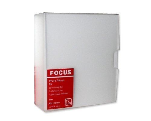 Wide Instax Camera Films Mini Photo Book Album for Fuji Instax Wide 210,Wide 300,Polaroid 600, Polaroid PX70, Polaroid PX 680, Polaroid PX 600, Polaroid PX100,FP100C,FP 3000B Films - Focus
