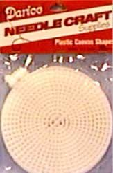 (Darice Bulk Buy Plastic Canvas 7 Count 4 inch Circles 10 Pack Clear 33004 (6-Pack))