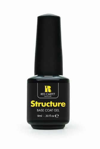 Red Carpet Manicure Structure Base Coat Gel, 0.30 Ounce
