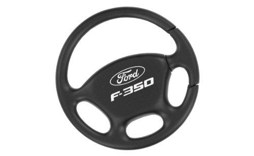 - Ford F-350 Black Steering Wheel Key Chain Keychain Fob