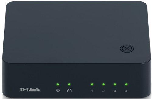 D-Link PowerLine AV 500 4-Port Gigabit Switch (DHP-540)