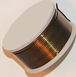 18 Gauge Square Vintage Bronze Enameled Craft Wire - 21 Ft WireJewelry H5-N18SQ-21FT