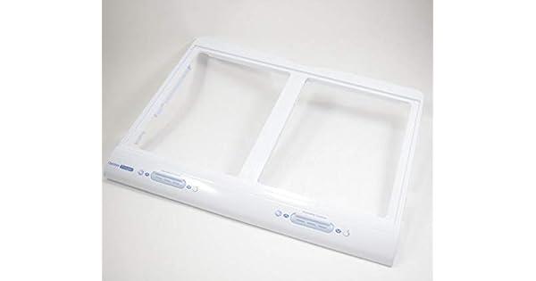 Lg MJH62074601 Refrigerator Crisper Drawer Cover Support Genuine OEM part