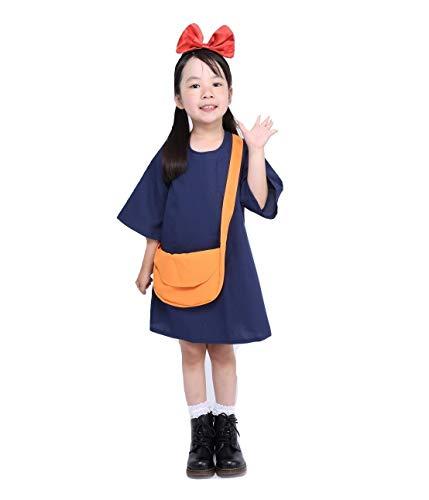 Fantasy Witch Kiki Dress Costume - Child One Size Navy ()