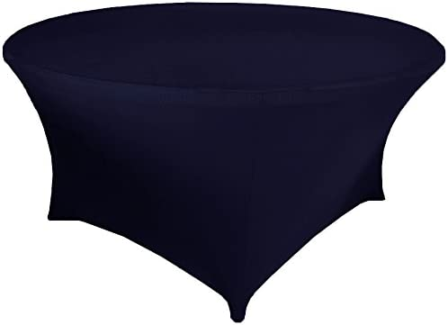 4 Ft Round Spandex Fitted Table Covers Tablecloths Wedding Linens Inc