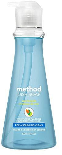 Method Dish Soap Pump - 18 oz - Sea Minerals - 6 Pack Case