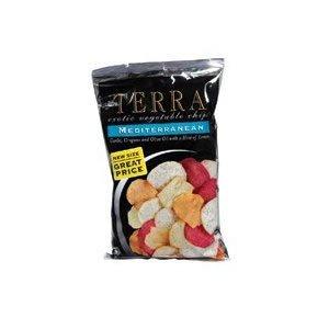 Terra Chips Exotic Mediterranean Vegetable Chips 5 oz (pack of 12)