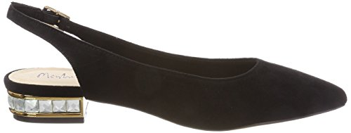 Menbur Women's Calamia Sling Back Ballet Flats Black (Schwarz 01) cheap sale prices hnheqAe