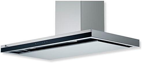THERMEX Decor 810 De pared Acero inoxidable 800m³/h - Campana (800 m³/h, Canalizado/Recirculación, 37 dB, 59 dB, De pared, Acero inoxidable): Amazon.es: Hogar