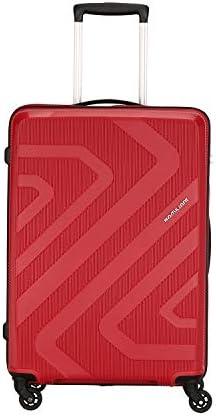 Kamiliant by American Tourister KAM Kiza Polypropylene 68 cms Ruby Red Hardsided Check-in Luggage (KAM KIZA SP 68CM – RUBY RED)
