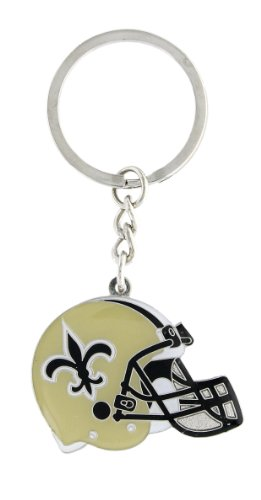 NFL New Orleans Saints Helmet Key Ring