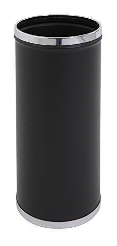 Paragü ero con cromo-plateado borde , negro, cromado POV GmbH