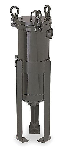 (Pentair - 156125-75 - 2 (F)NPT Carbon Steel Bag Filter Housing, Bottom Outlet, 220 gpm)