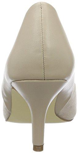 Bianco Basic Split Pump Exp16 - Tacones Mujer Beige (nougat)
