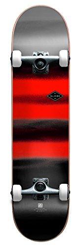 Chromantic Globe Deck - GLOBE HG Full On G1 Complete Skateboard, Charcoal/Chromantic, 8-Inch