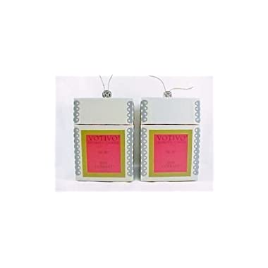 2 Pack Votivo Red Currant #96 Candles
