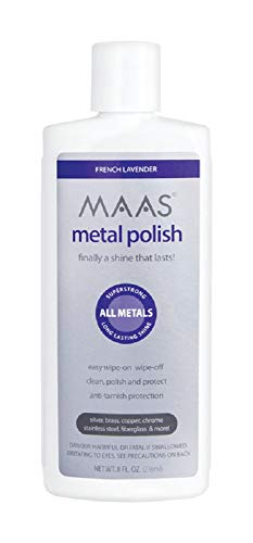 MAAS Metal Polish, 8-oz. - Quantity 6 by MAAS INTERNATIONAL INC (Image #1)